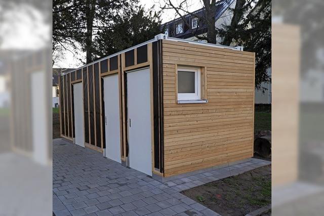 Toilettenanlage im Stadtgarten