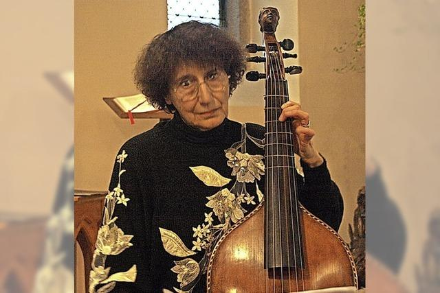 Meditation dank der Viola da Gamba