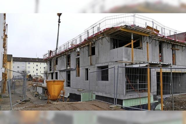 Lerchenhof wächst in die Höhe