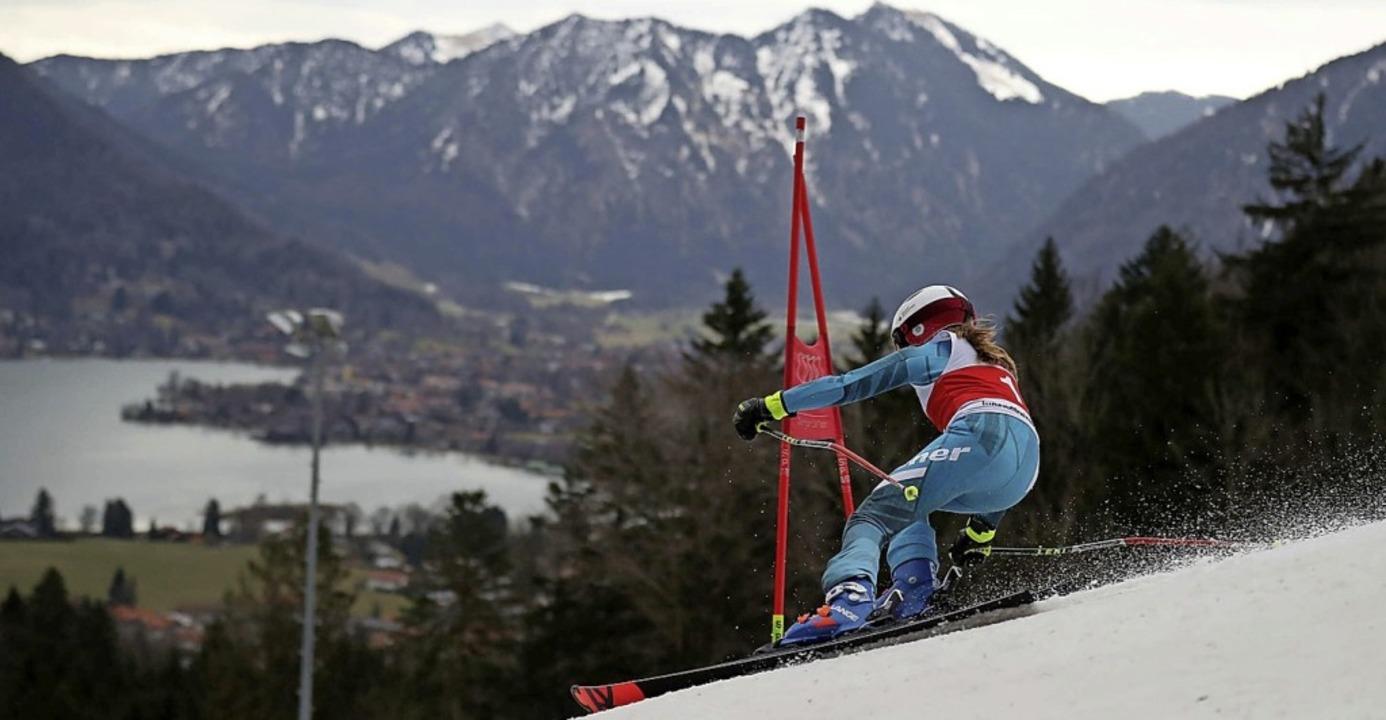 Eine Finalistin auf dem Weg zum Ziel.   | Foto: DSSS / sampics