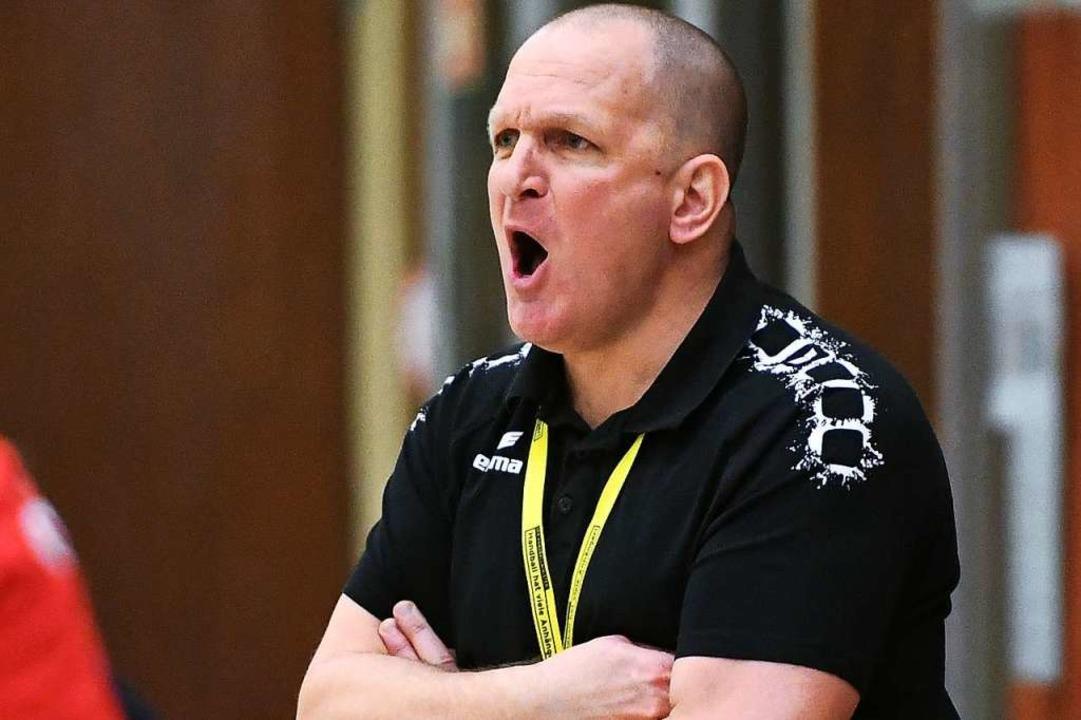 Erlebte eine aufregende Schlussphase: Mirko Reith, Trainer des TV Herbolzheim  | Foto: Achim Keller