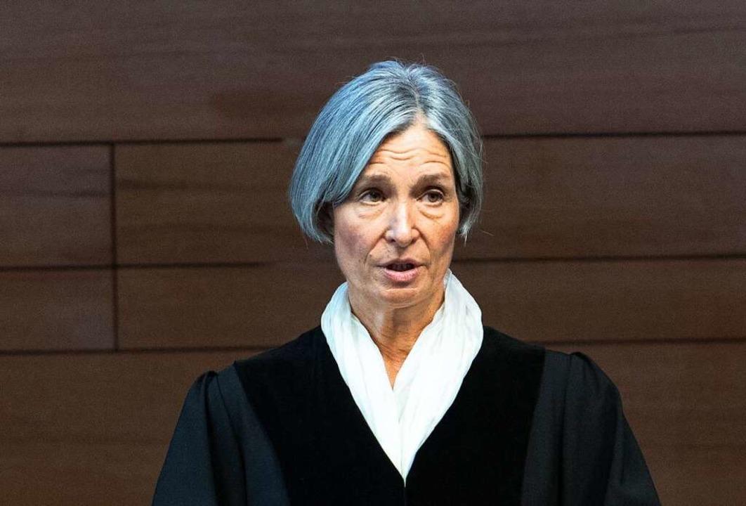 Die Vorsitzende Richterin Eva Kleine-Cosack  | Foto: Patrick Seeger (dpa)
