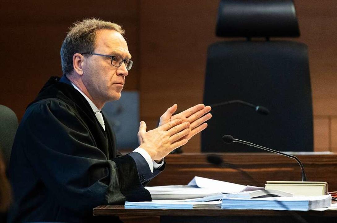 Staatsanwalt Matthias Rall.  | Foto: Patrick Seeger (dpa)