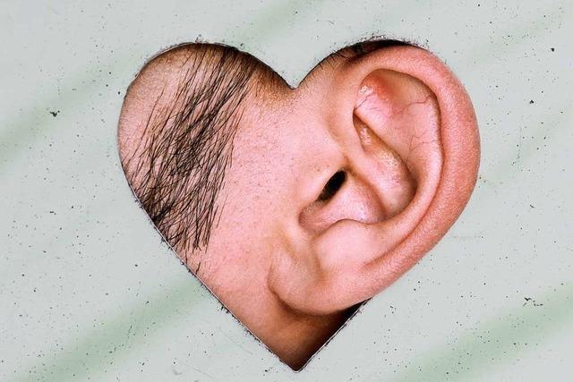 Kleiner Mann im Ohr