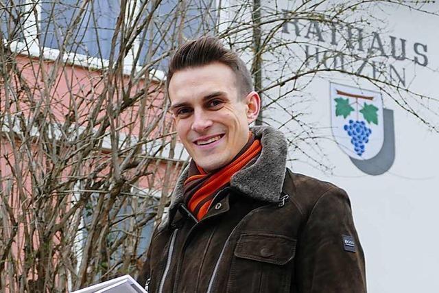 Florian Zöbelin will für junge Kanderner die Alternative sein