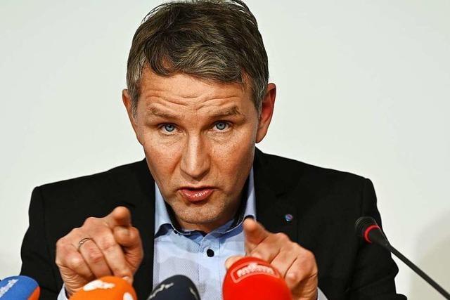 Neuer Schachzug der AfD: Höcke tritt gegen Ramelow an