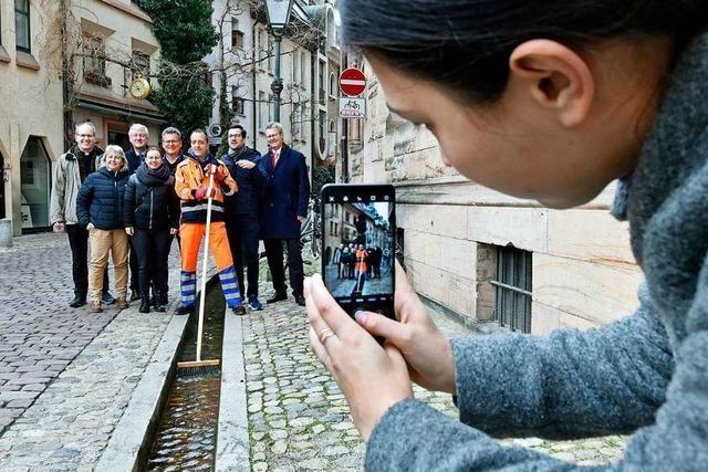 Freiburgs Jubiläums-Botschafterinnen und -Botschafter trafen sich zur Putzete