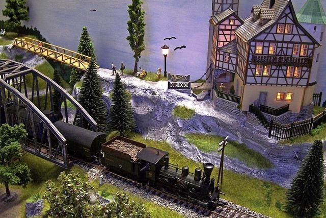 Modell-Eisenbahnausstellung in Bad Krozingen