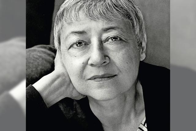 Sigrid Nunez liest ihren Roman über Freundschaft im Peterhofkeller