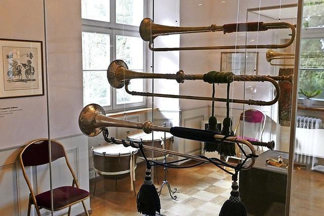 Das Trompetenmuseum Bad Säckingen erstrahlt nach der Renovierung in neuem Glanz