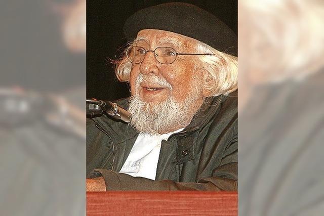 Ein Revolutionär und Dichter im Kursaal