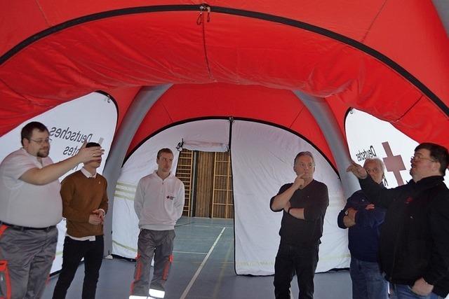 Zeit für ein neues Zelt