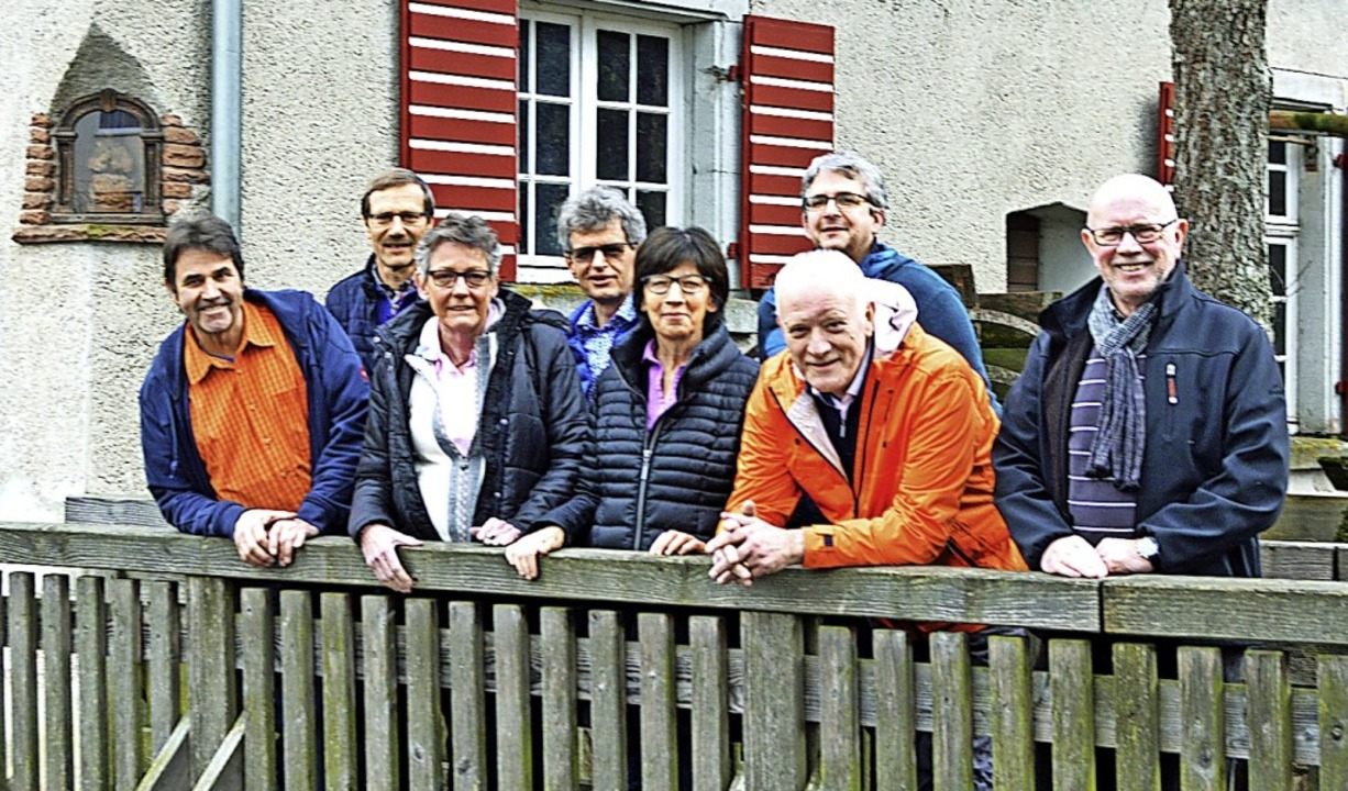 Der neue Vorstand des Schwarzwaldverei...ter Buch und Heinz Esders (von links)     Foto: Gerhard Lück