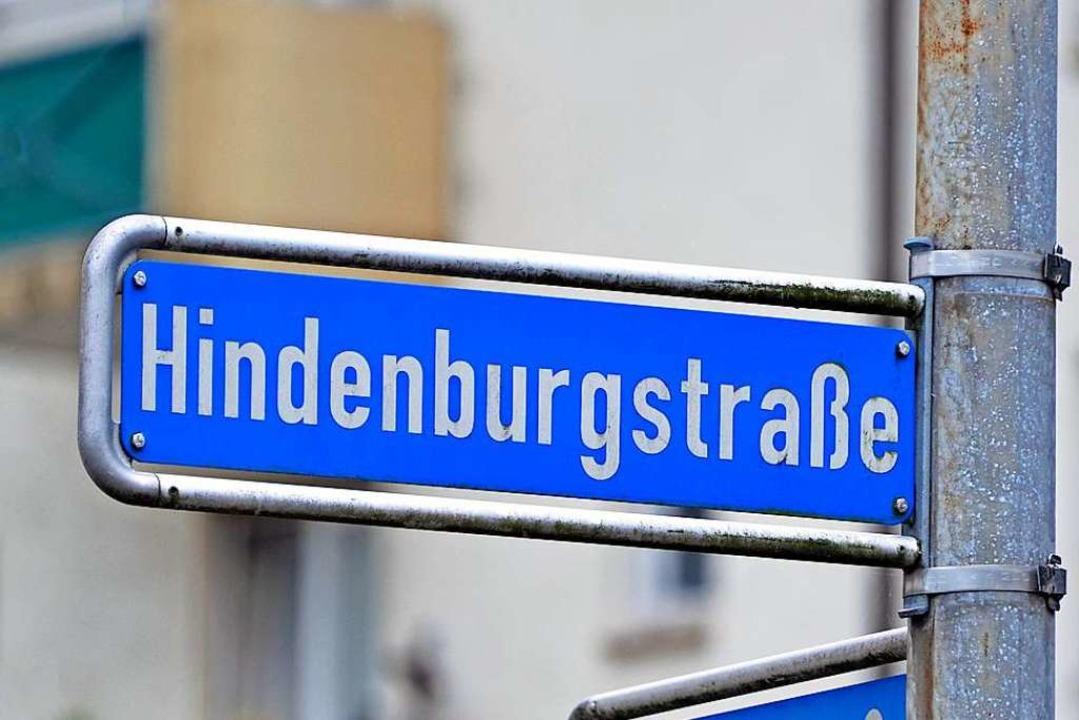 Die Freiburger Hindenburgstraße heißt bald Otto-Wels-Straße.  | Foto: Michael Bamberger