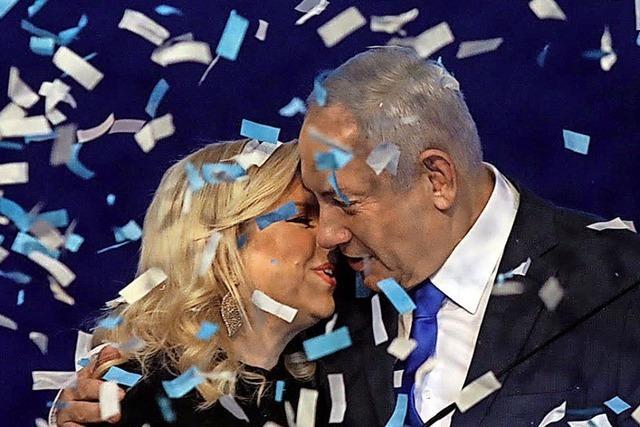 Likud gewinnt die Wahl