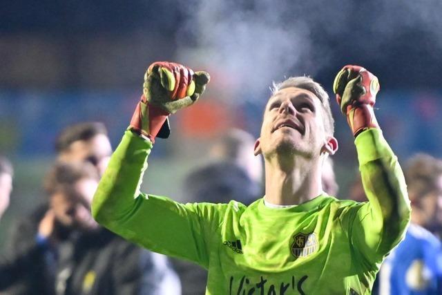 Erstmals steht ein Viertligist im Halbfinale des DFB-Pokals