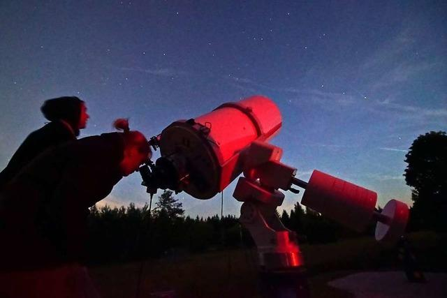 Warum der Landschaftspflegeverein Ettenheimweiler eine Sternennacht anbietet