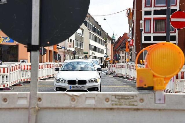 Hier drohen Staus: Das sind die größten Baustellen in Freiburg in diesem Jahr