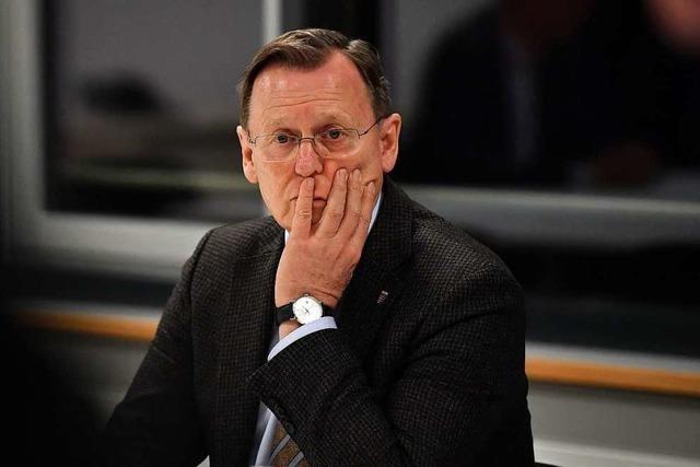 Newsblog: Ramelow zum Thüringer Ministerpräsidenten gewählt