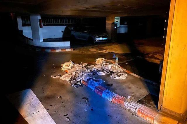 350 Zeitungen sind zerstört