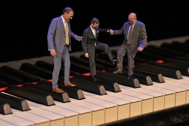 Europäisches Trio Three Wise Men gastiert im Lörracher Jazztone