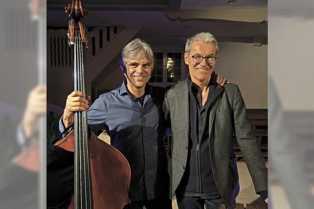 Florian Döling und Michael Kiedaisch präsentieren eigene Stücke und Improvisationen im Stiftsschaffneikeller