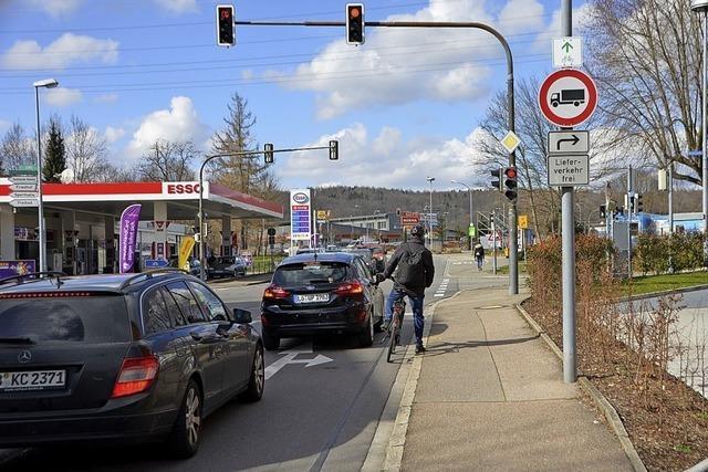 Radfahrerschutz nicht immer einfach