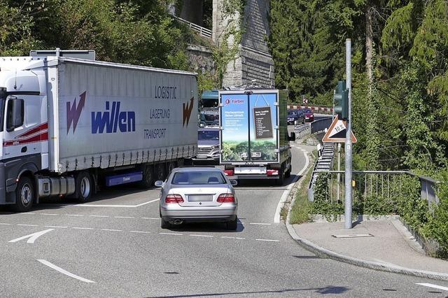 Mehr Platz für Lastwagen