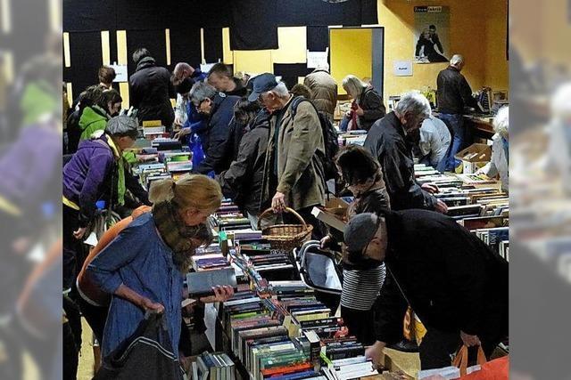 Tausende Bücher zu Kilo-Preisen