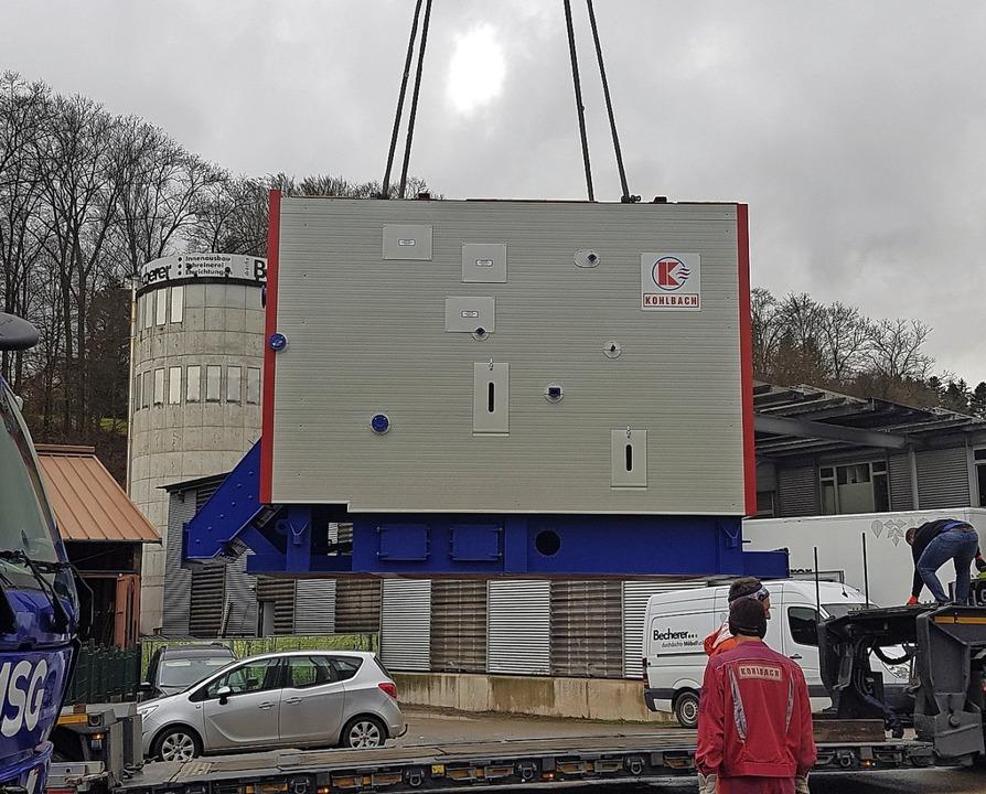 Bei der Nahwärmegenossenschaft wurde A...ereits in Betrieb befindliche Kessel.   | Foto: Privat