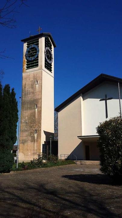 Die Kirche St. Gallus in Hugstetten: H...elsorgeeinheit March-Gottenheim statt.  | Foto: Julius Wilhelm Steckmeister