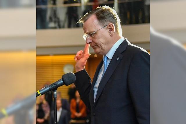Ramelow in Erfurt gewählt