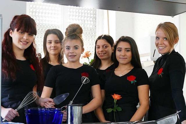 Power-Girls starten ein Schülercafé in Rheinfelden