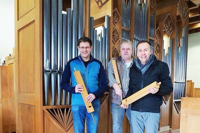 Wie die Orgel in einer Haltinger Kirche grundlegend erneuert wird