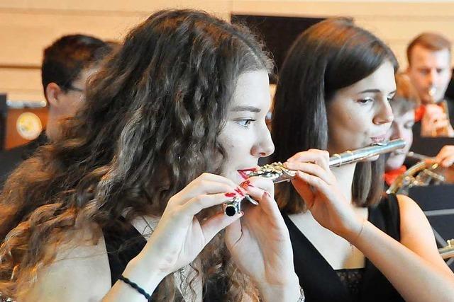 Das Jugendblasorchester des Musikverbandes startet in die neue Saison