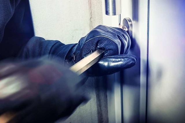 Einbrecher lassen an Grenzacher Tankstelle Werkzeug liegen