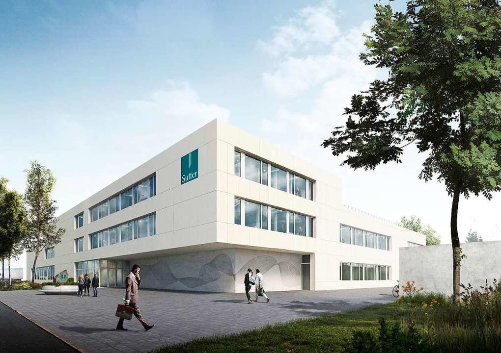 So soll es aussehen, das Firmengebäude...technik im Gewerbegebiet Regelmatten.   | Foto: Atelier für Architektur Räther & Höfflin Architekten PartGmbB