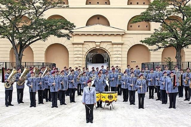 Heeresmusikkorps Koblenz zu Gast in Bad Krozingen