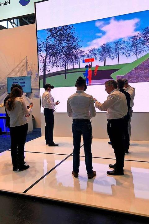 Mit Hilfe von 3D-Simulationen und soge... gar nicht realisierte Gebäude nehmen.    Foto: ITP
