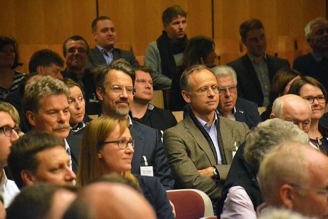 Das Wirtschaftreffen in Weil am Rhein findet statt