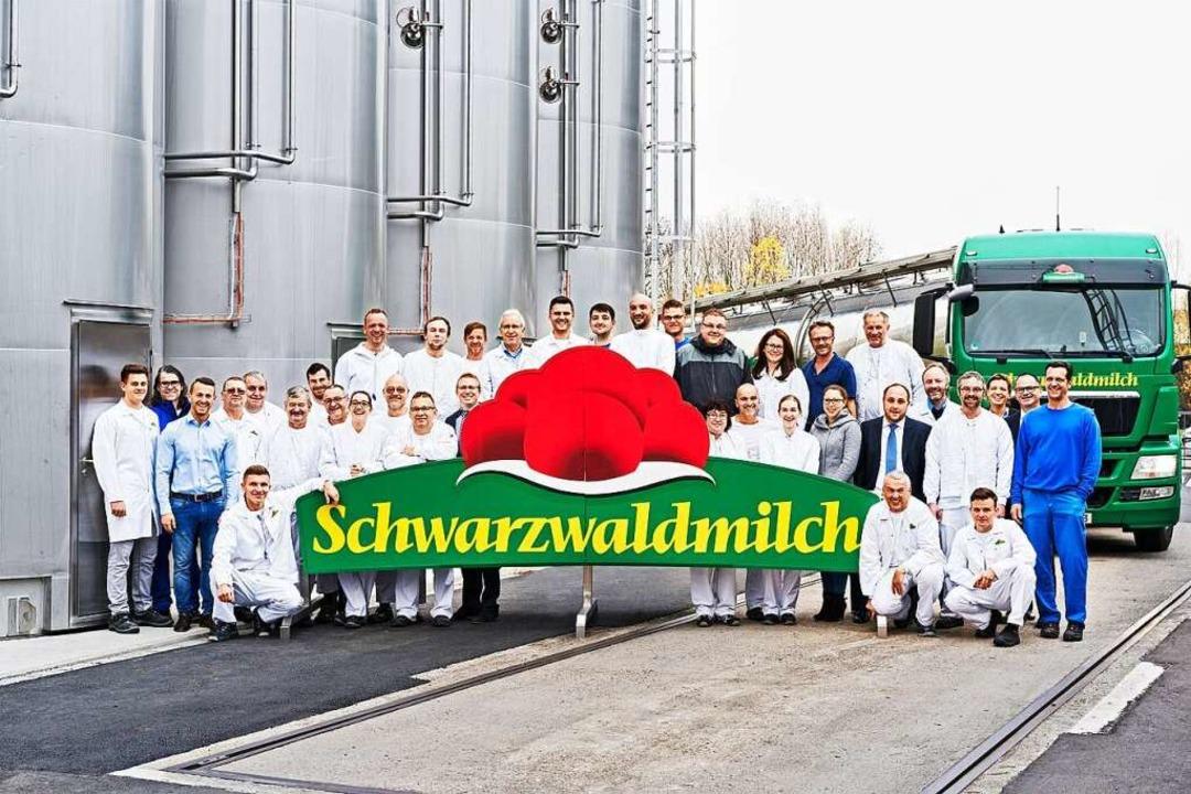 Ein starkes Team: Die Schwarzwaldmilch  freut sich über Verstärkung  | Foto: Axel Killian
