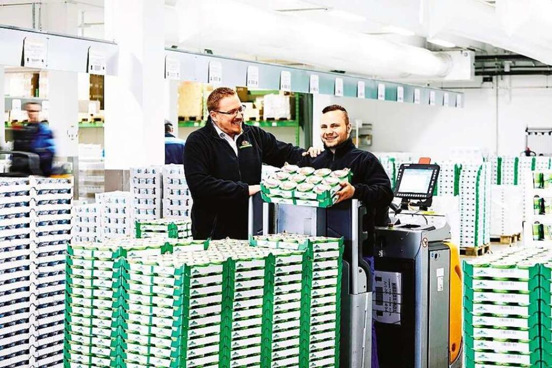 Ausbildung bei der Schwarzwaldmilch: A...ogistik erhält man spannende Einblicke  | Foto: Axel Killian
