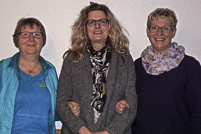 Drei unermüdliche Mitglieder verlassen die Vorstandsriege