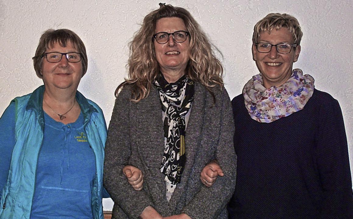 Sie verlassen die Vorstandsriege der L...e, Maria Eva Scheu und  Jutta Kessler.  | Foto: Cornelia Selz