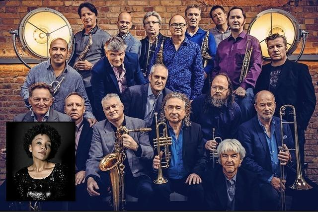 SWR Big Band featuring Fola Dada im Vaya Casa in Kappelrodeck
