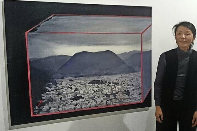 Sumiko Shôji zeigt ihre Arbeiten von Sonntag an im Offenburger Artforum