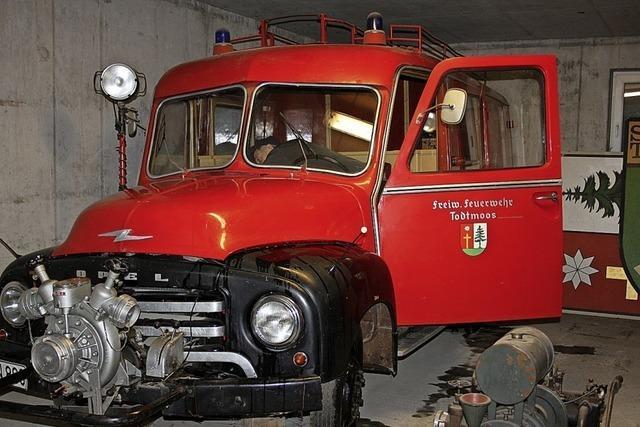 Der Opel Blitz der Feuerwehr hat eine Fangemeinde