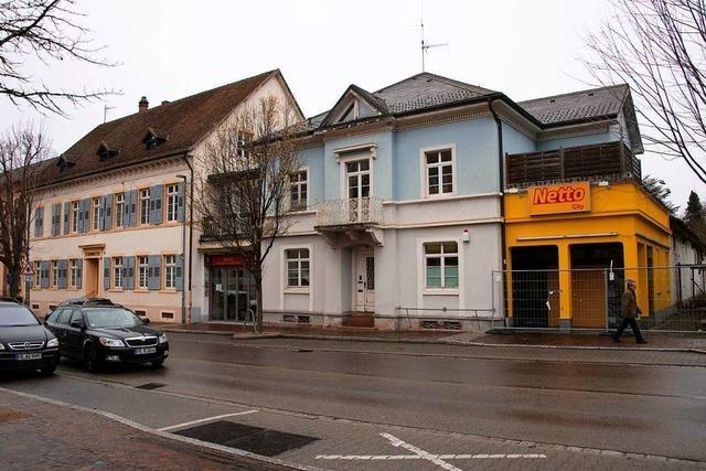 Der Netto-Markt in Müllheim soll im Sommer 2021 wieder öffnen