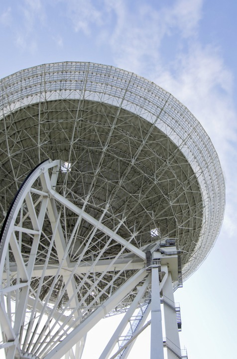 Das Radioteleskop Effelsberg  | Foto: Rolf Vennenbernd