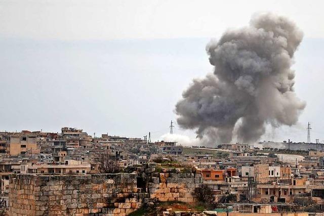 Putin und Erdogan einigen sich auf Waffenstillstand im syrischen Idlib